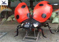 Large Simulated Large Garden Ornaments , Handmade Insect Park Outdoor Garden Statues