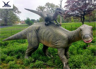 Chiny Dinosaur Replicas Life Size, Dinosaur Garden Sculpture For Forest Playground Decoration fabryka