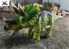 Shopping Mall People Riding Dinosaurs , Dinosaur Toy Ride On For Game Center