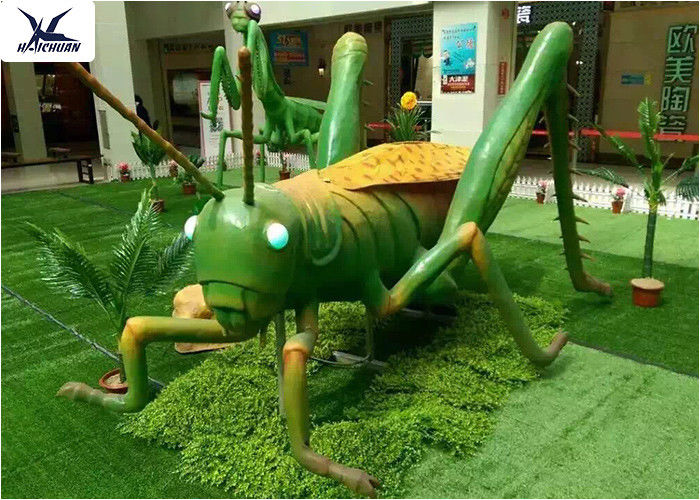 Botanical Garden Decoration Large Animatronic Animal Artificial Locust Models