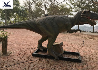 Chiny Dinozaur World Display T Rex Lawn Ornament Giant Realistic Outdoor / Indoor fabryka