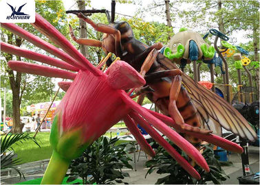 Zoo Park Outdoor Owad Rzeźba, Handmade Animal Artificial Insect Statues